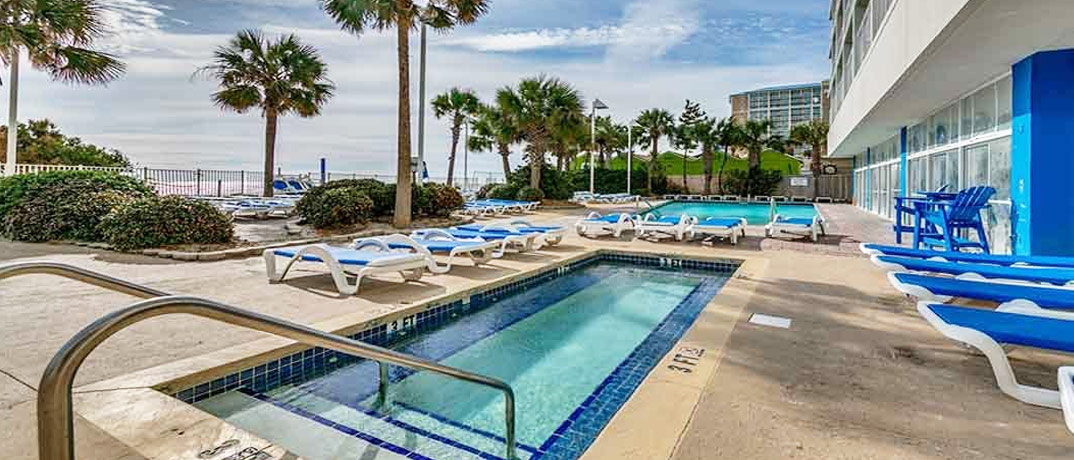 Sandy Beach Resort Vacation Rentals in Myrtle Beach, SC