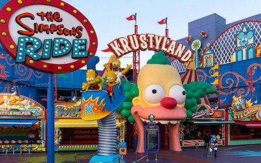 Simpsons Universal Orlando
