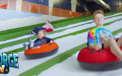Pigeon Forge Year Round Snow Tubing
