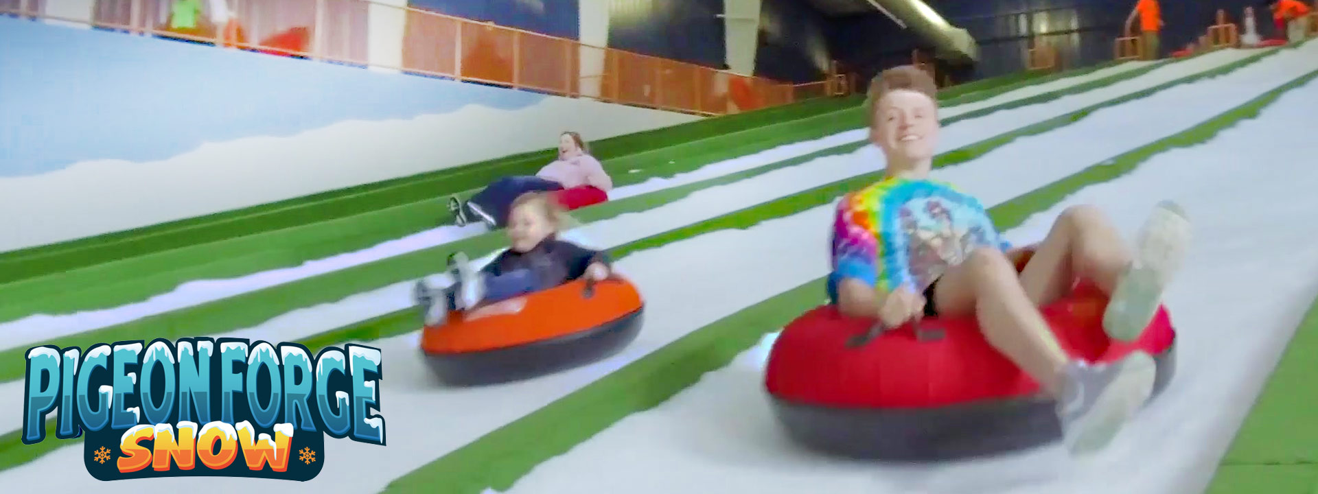Year Round Snow Tubing Pigeon Forge Snow Pigeon Forge