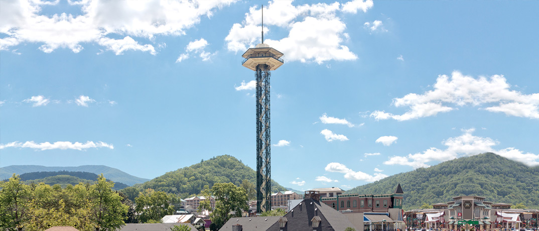 Gatlinburg's Space Needle