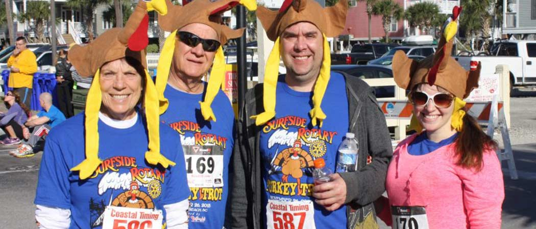 Surfside Beach Turkey Trot 2017