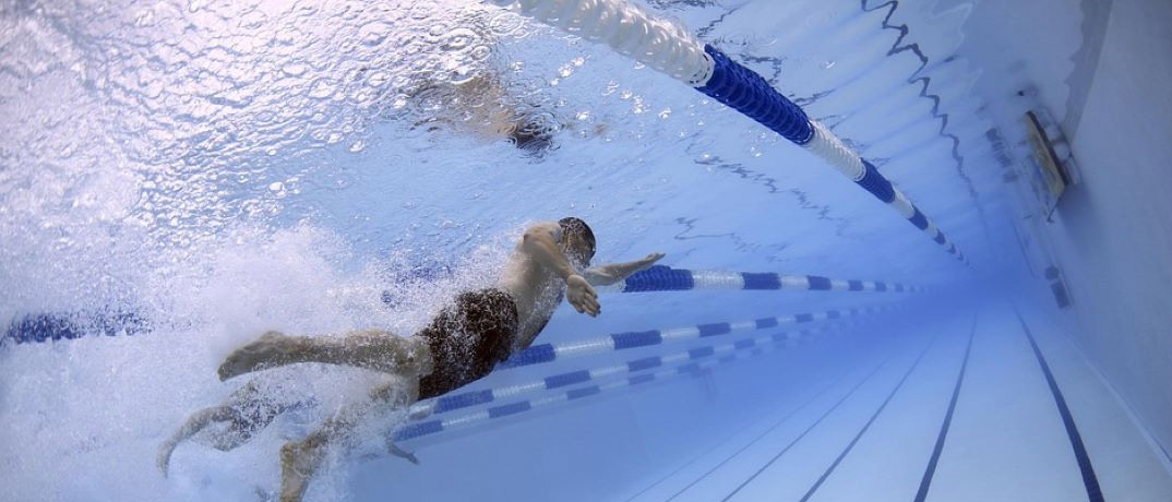 Ironman Triathlon Swimming