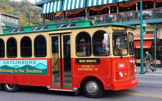 The Gatlinburg Trolley