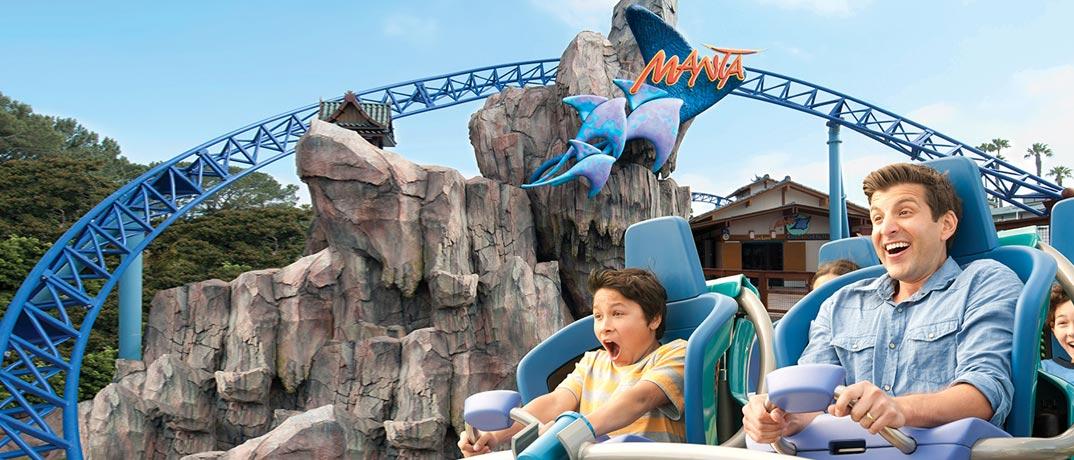 The Manta Sea World Roller Coaster