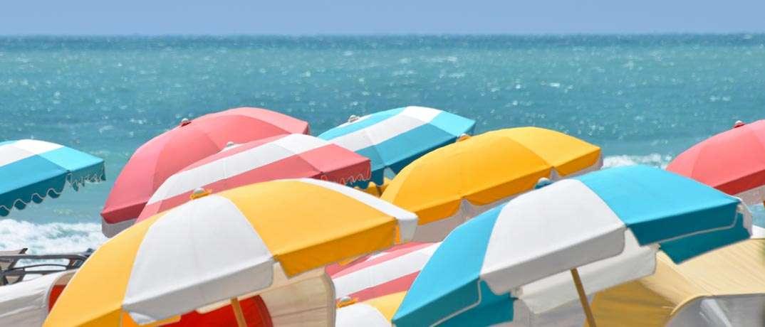 Tilt Umbrella Toward Wind