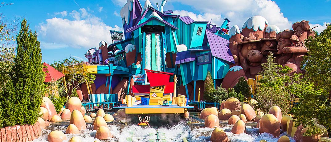 Toon Lagoon Rides and Attractions