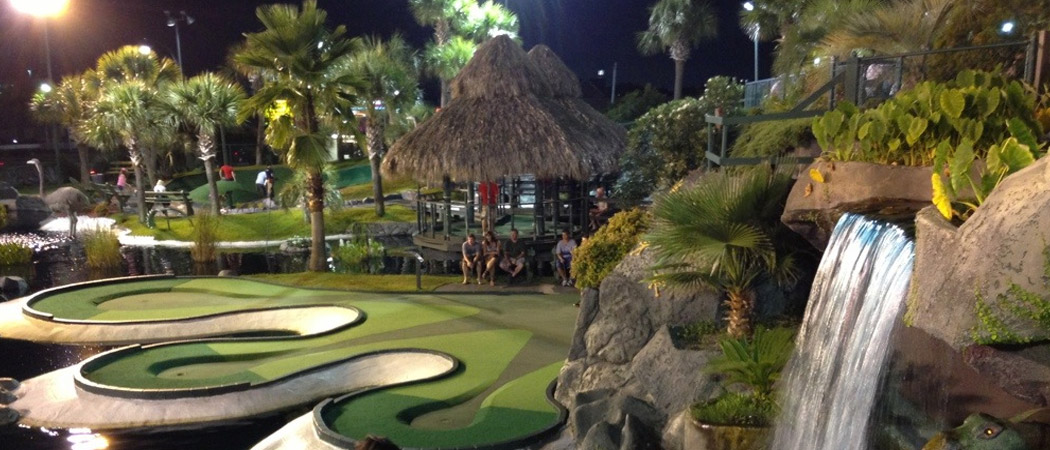 Treasure Quest Mini Golf Gatlinburg