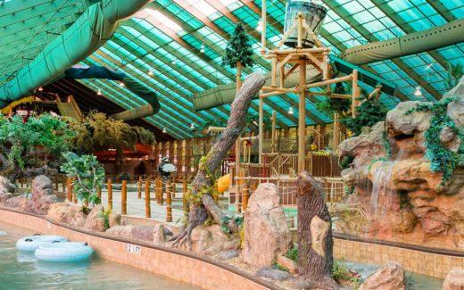 Wild Bear Falls Indoor Water park